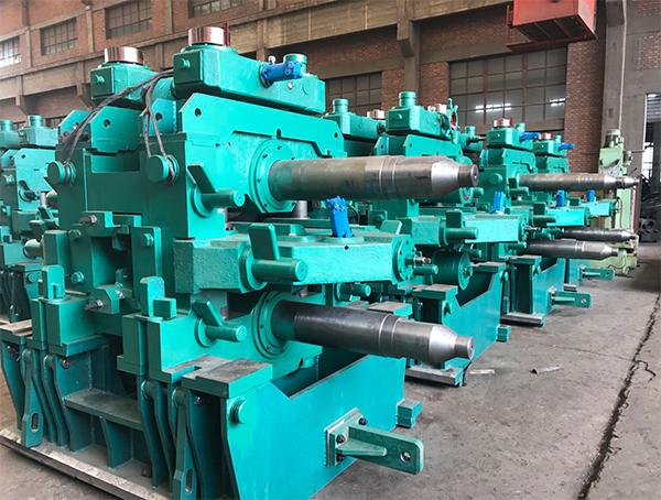 軋鋼機械使用